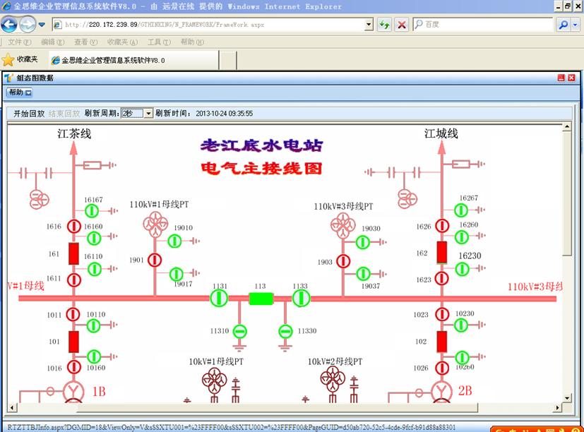 系统电气主接线图